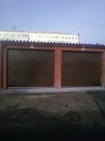 Ворота секционные автоматические гаражные